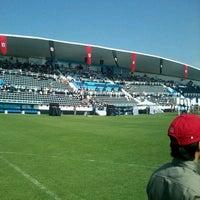 Photo taken at Estadio 10 de Diciembre by Iván C. on 5/1/2013
