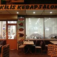 Photo taken at Öz Kilis Kebap ve Lahmacun Salonu by Fatih Ö. on 1/4/2013
