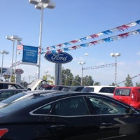Photo taken at Kearny Pearson Ford by sherrod p. on 3/18/2013