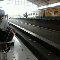 Photo taken at Stasiun Lempuyangan by Izhar A. on 4/5/2013