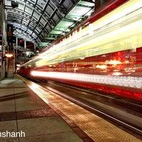 Photo taken at America Plaza Trolley Station by Rahshan H. on 12/28/2012
