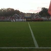 Photo taken at Alumni Stadium by Keith T. on 10/2/2012