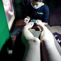 Photo taken at Bali Bliss Nail and Day Spa by Ice U. on 5/11/2013