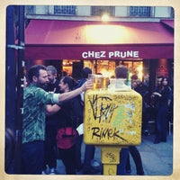 Photo taken at Chez Prune by Delphine P. on 6/21/2013