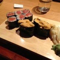 Photo taken at Takahachi by East Village Eats on 2/1/2013