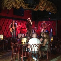 Photo taken at Rockwood Music Hall by East Village Eats on 7/15/2013