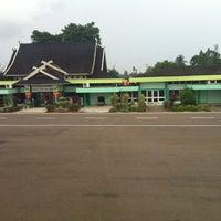 Photo taken at Sultan Thaha Syaifuddin Airport (DJB) by Ananta P. on 7/2/2013