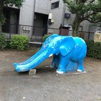 Photo taken at 豊島区立高田第二公園 by キャシー on 9/6/2018