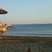 Photo taken at Küçükkuyu Plajı by Gül Ş. on 7/26/2013