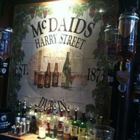 Photo taken at McDaid's by Michael Patrick M. on 5/22/2013