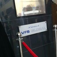 Photo taken at UK Visa Application Centre by Sumayah M. on 10/30/2013