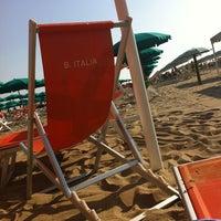 Photo taken at Bagno Italia by Monica P. on 6/20/2013