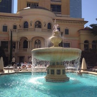 Photo taken at The Pool At Bellagio by Stephanie R. on 9/30/2012