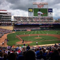 Photo taken at Target Field Station by Stephanie R. on 6/20/2015