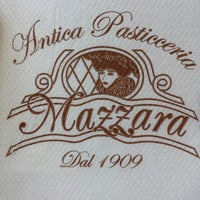Photo taken at Antica Pasticceria Mazzara by Matteo M. on 8/11/2013