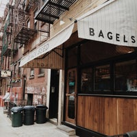 Photo taken at Black Seed Bagels by Jeremy F. on 4/23/2014