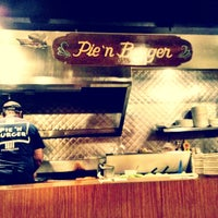 Photo taken at Pie 'n Burger by Jerome G. on 7/6/2013
