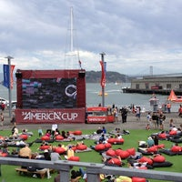 Photo taken at America's Cup Pavilion by Steve A. on 8/17/2013