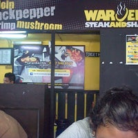 Photo taken at Waroeng Steak & Shake by Bernadinus P. on 4/6/2013