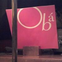 Foto tirada no(a) Obá Restaurante por André Renato R. em 1/5/2013