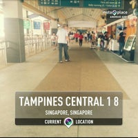 Photo taken at Tampines Bus Interchange by Muhd Q. on 3/21/2013