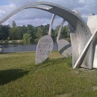 Photo taken at Ocvali komunizam Spomenik by Sasha M. on 5/17/2011