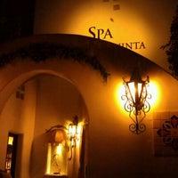 Photo taken at Spa La Quinta by Yaya C. on 12/16/2011