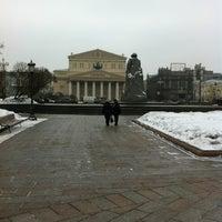 Снимок сделан в Площадь Революции пользователем Никита Ф. 3/12/2012