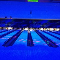 Photo taken at Brunswick Zone Lowell Lanes by Charlie M. on 4/8/2012