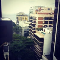 Photo taken at Mar Ipanema Hotel by Luba S. on 1/1/2012