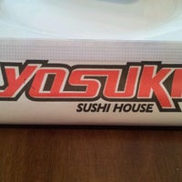 Photo taken at Yosuki Sushi House by Rafael C. on 2/12/2012
