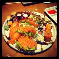 Photo taken at Koji Sushi by Laís W. on 6/18/2013