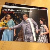 Photo taken at Pfalztheater by Frank P. on 11/15/2013
