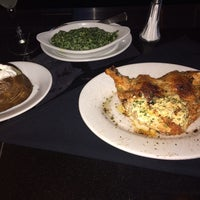 Photo taken at Ruth's Chris Steak House - Clayton, MO by Mario B. on 7/15/2014