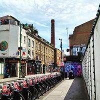 Photo taken at Brick Lane Brasserie by Julian C. on 6/29/2015