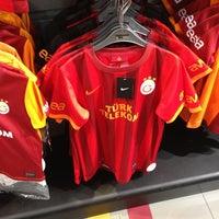 Photo taken at Galatasaray Store by Yeşim G. on 8/12/2013