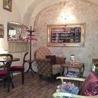 Photo taken at Porto coffee & wine by Juraj S. on 3/20/2013