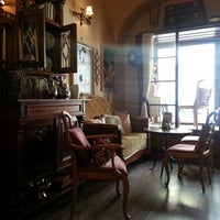 Photo taken at Porto coffee & wine by Juraj S. on 4/16/2013