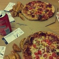 Photo taken at Domino's Pizza by Ayça Ş. on 9/13/2015