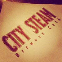 Photo taken at City Steam Brewery by Calley N. on 7/27/2013