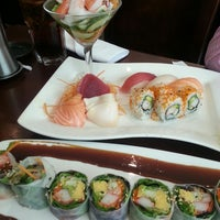 Photo taken at Sushi Siam by Serene F. on 7/3/2013