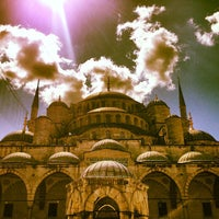 Photo taken at Blue Mosque by Ruaridh M. on 7/22/2013