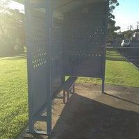 Photo taken at Bus Stop by Ben W. on 6/10/2013