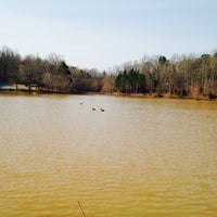 Photo taken at Anne Springs Close Greenway by Sushmitha M. on 3/24/2014