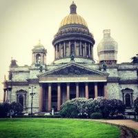 Снимок сделан в Исаакиевская площадь пользователем Kristina K. 5/29/2013