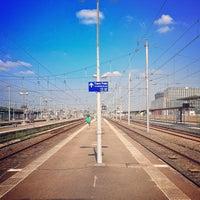 Photo taken at Nantes Railway Station by Rachel on 7/12/2013