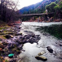 Photo taken at American River by Heather O. on 2/21/2014