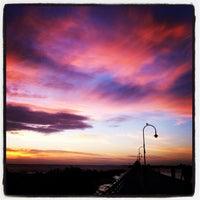 Photo taken at St Kilda Beach by Alex T. on 12/17/2012