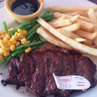 Photo taken at Holycow Camp Senopati 2 by nia s. on 7/9/2016