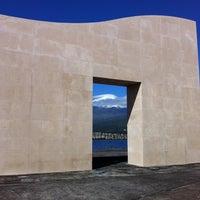 Photo taken at Monumento Aos Baleeiros Das Lajes Do Pico by Carlos S. on 3/10/2013